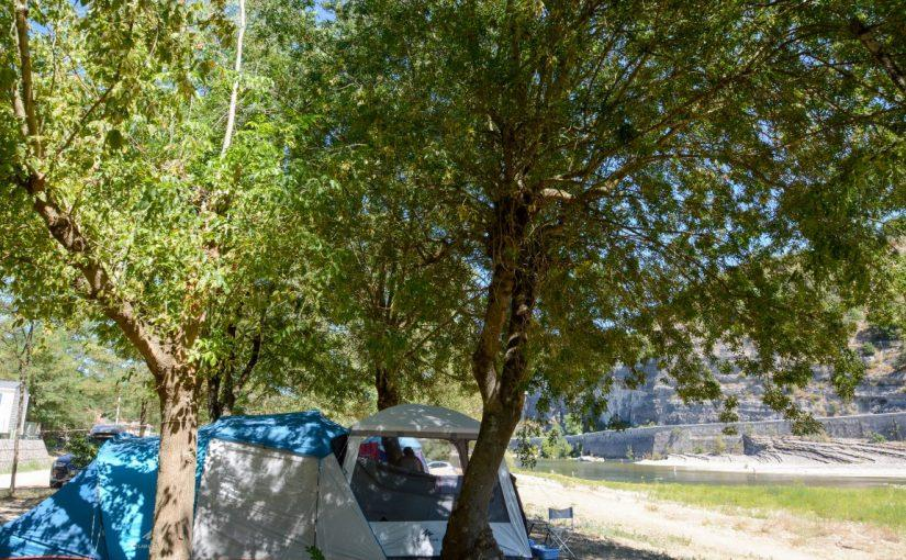 Camping Aloha Plage, Sampzon, Ardèche