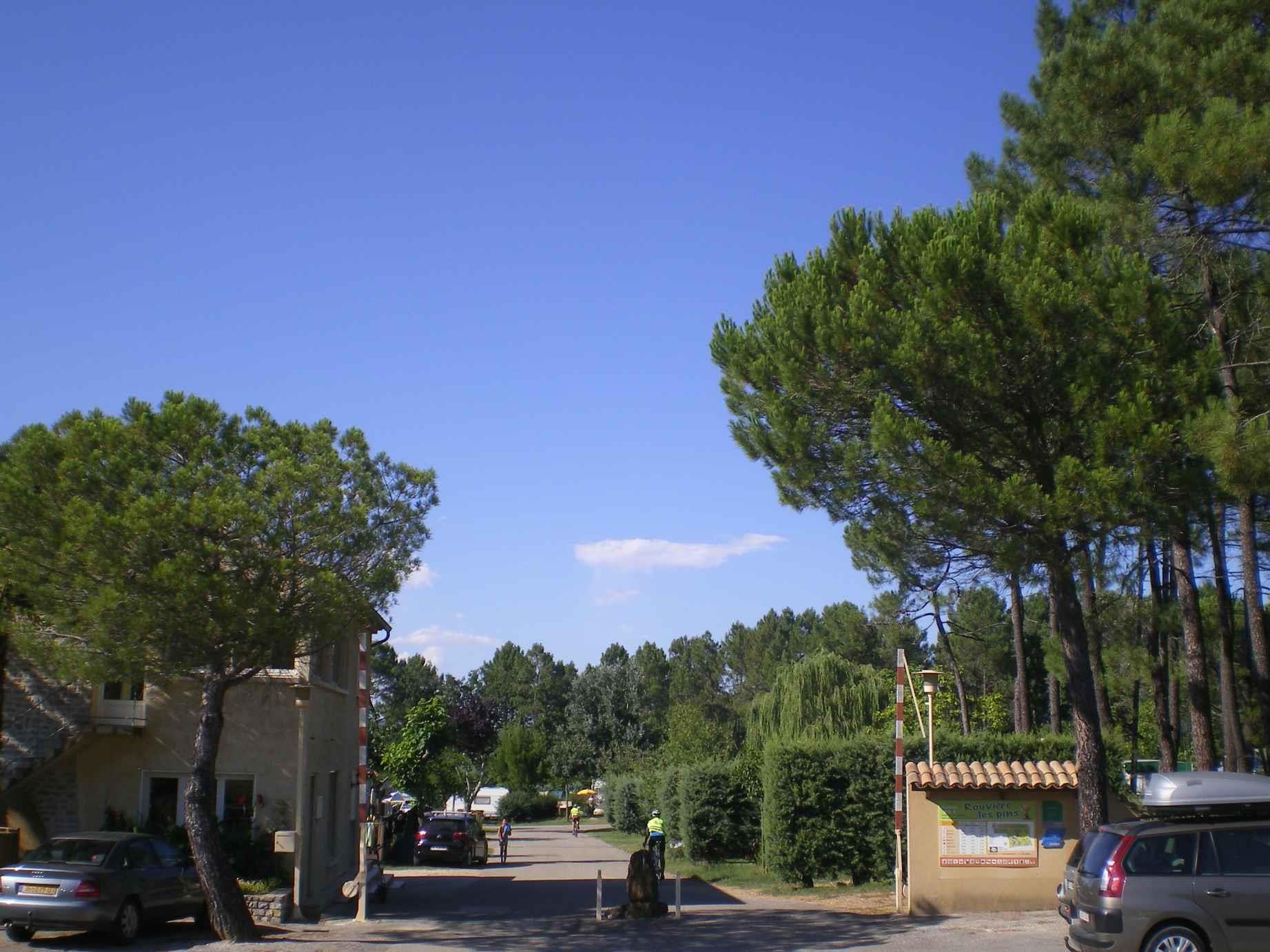 Camping la Rouvière les Pins, Vagnas, Ardèche