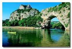 Région Camping Rives D'arc - Vallon Pont D'arc