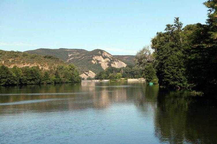 Camping la Roubine, Vallon-Pont-d'Arc, Ardèche