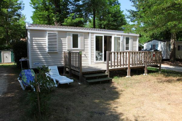 Accommodation - Mobile Home 3 Bedrooms Standard - Camping La Grand'Terre