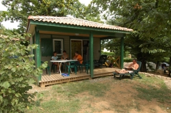Location - Chalet Eden - Camping Les Cruses