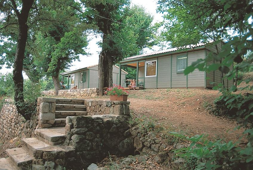 Location - Chalet Rêve 2 Chambres - Camping Les Cruses