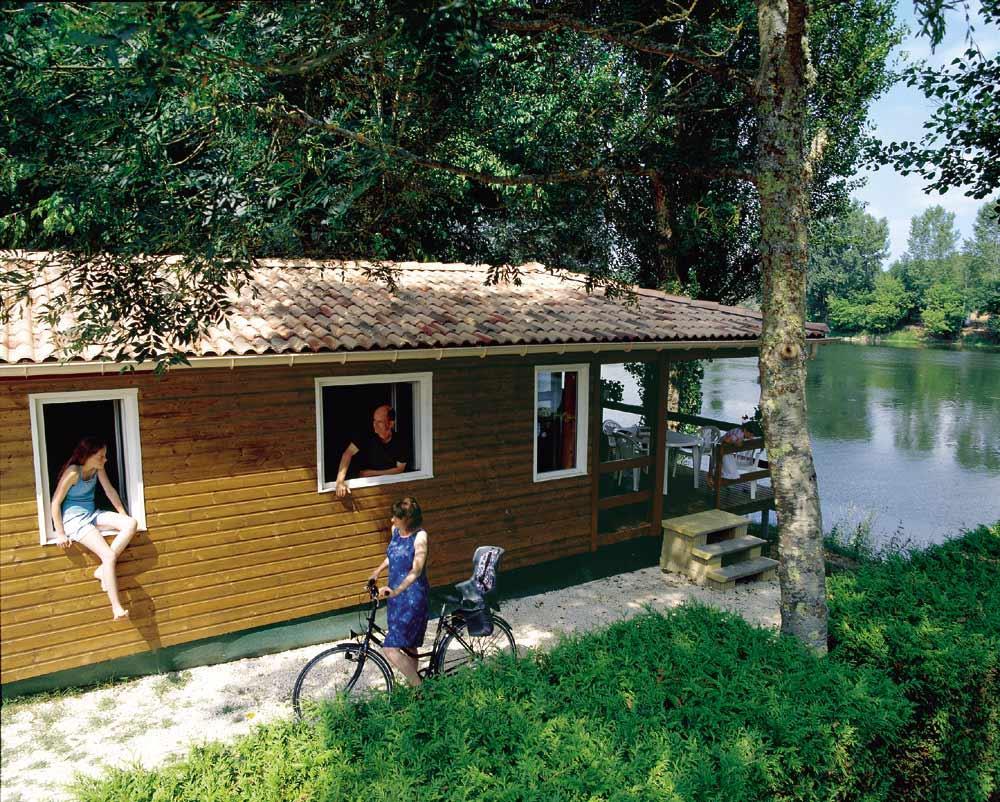 Camping les Bo Bains, Badefols-sur-Dordogne, Dordogne
