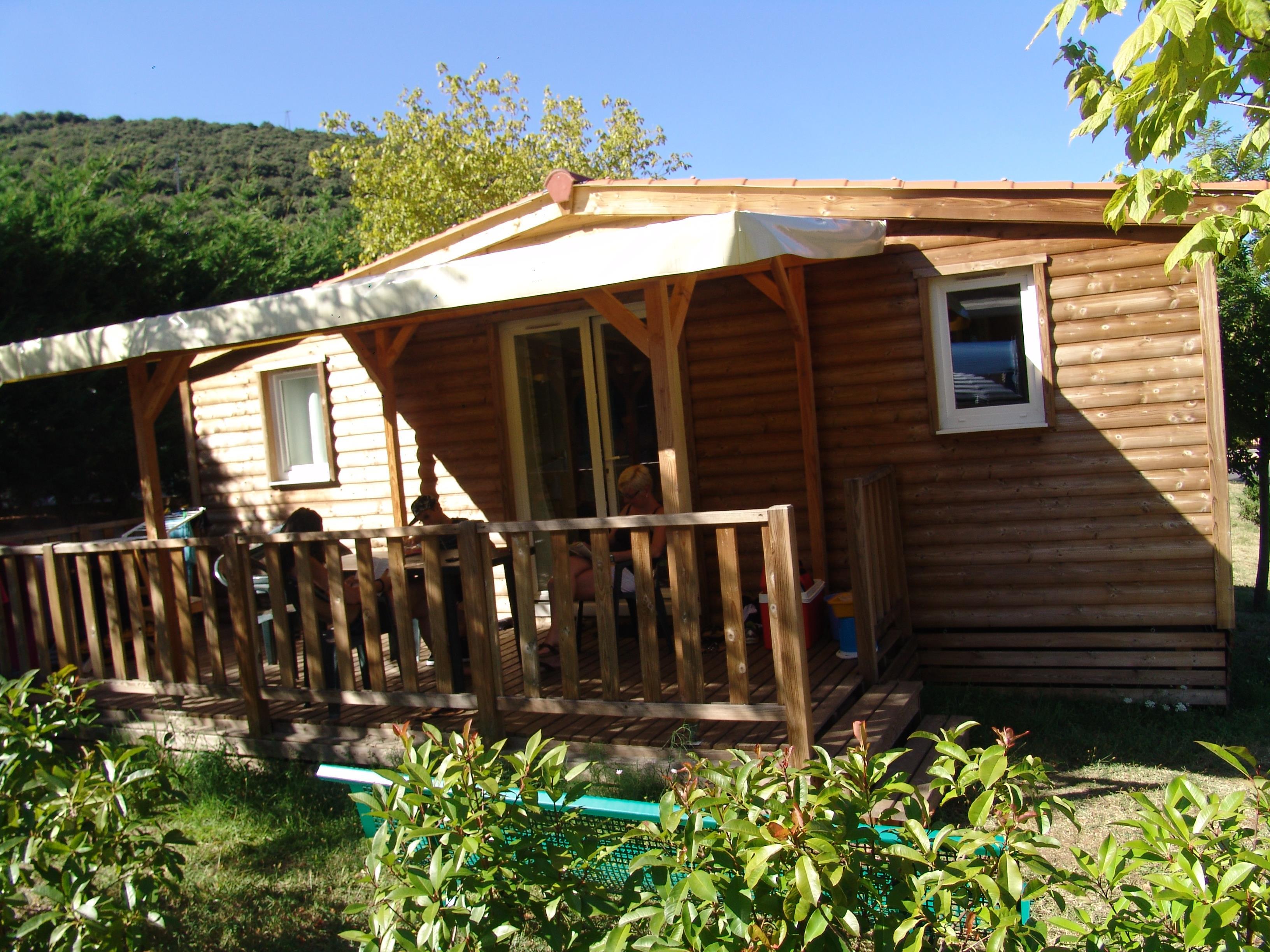 Location - Cottage Bigarreau 26M² 2 Chambres - Camping Les Cerisiers du Jaur