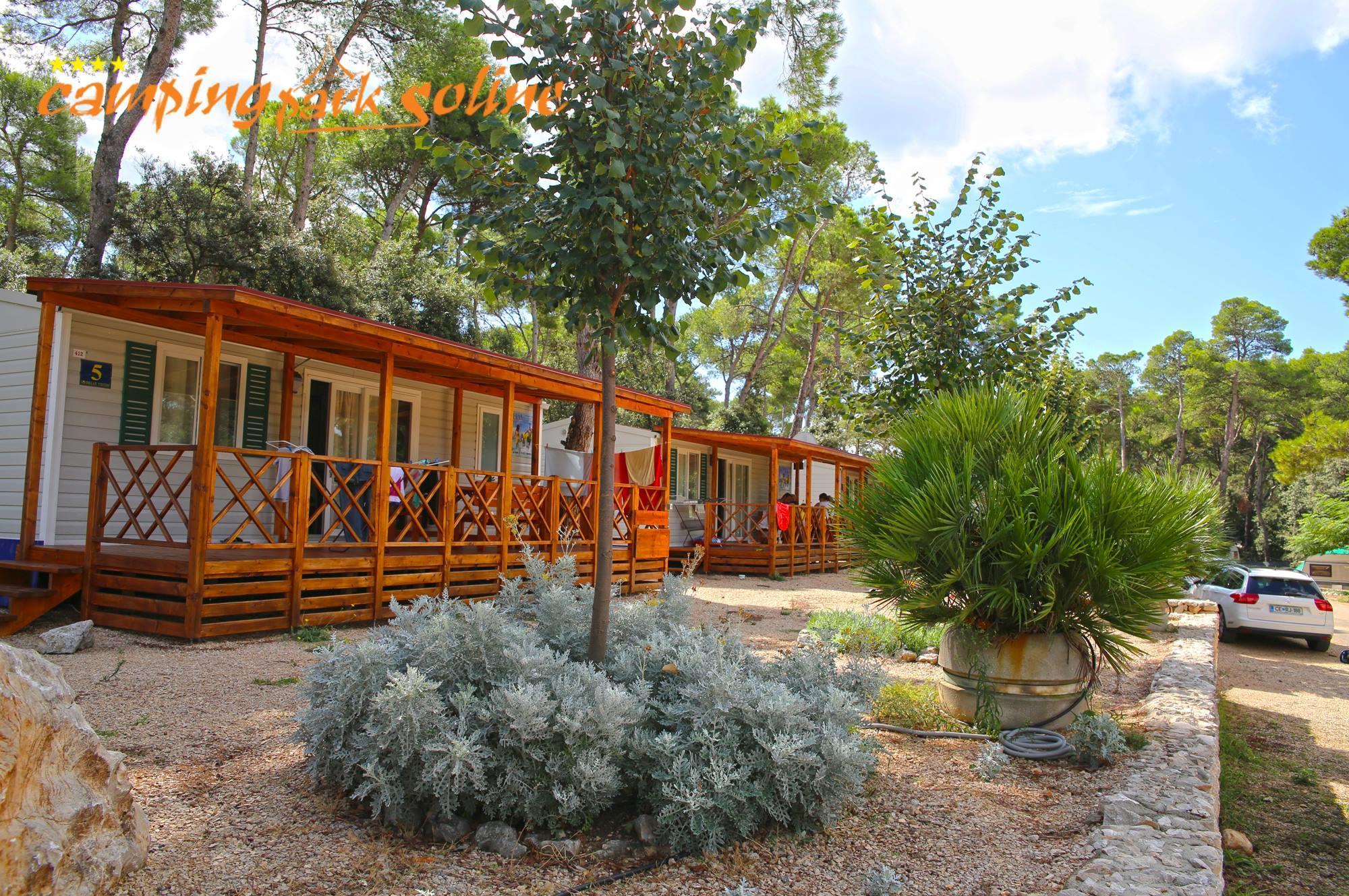 Location - Mobilhome Shelbox  Tavolara - Camp Park Soline