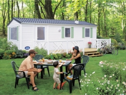 Accommodation - Mobile-Home Luxe 3 Bedrooms - Camping La Rouveyrolle