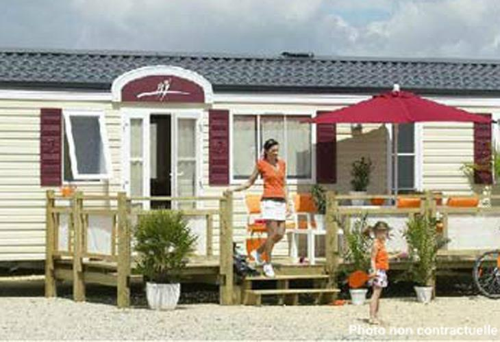 Accommodation - Mobile-Home Grand Luxe 2 Bedrooms - Camping La Rouveyrolle