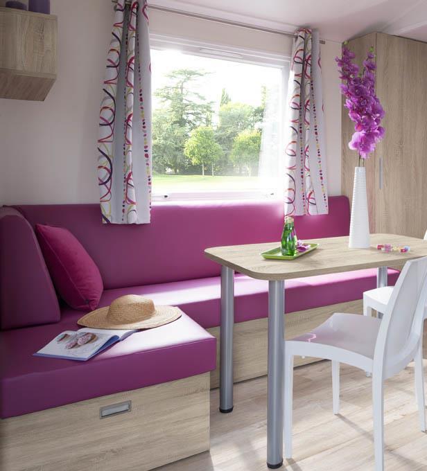 Location - Mobil-Home Premium 33M² -3 Chambres Avec Terrasse Couverte - Camping des Vallées