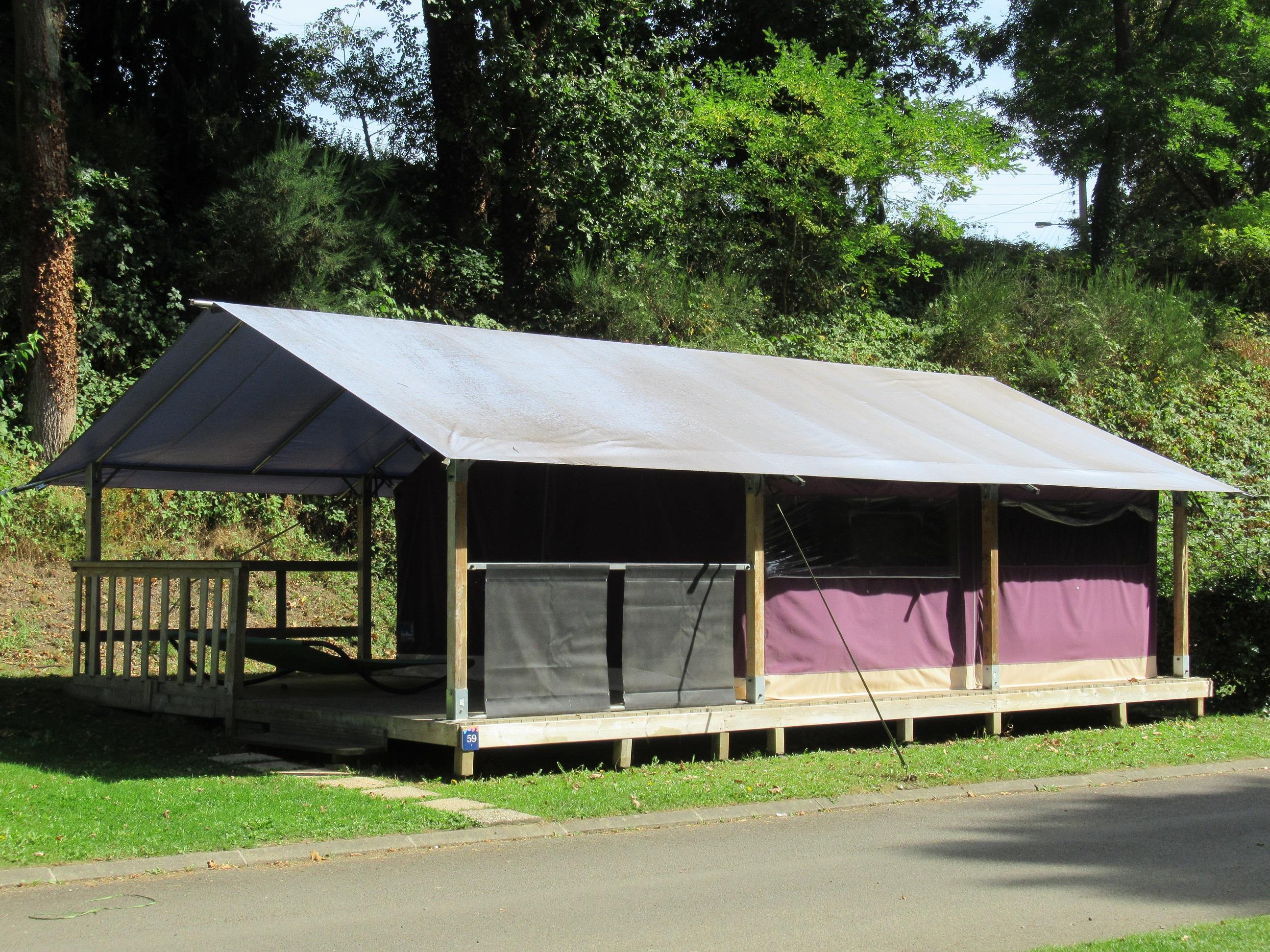 Location - Freeflower Standard 37M² - 2 Chambres Dont Terrasse Couverte 13 M² / Sans Sanitaires - Camping des Vallées