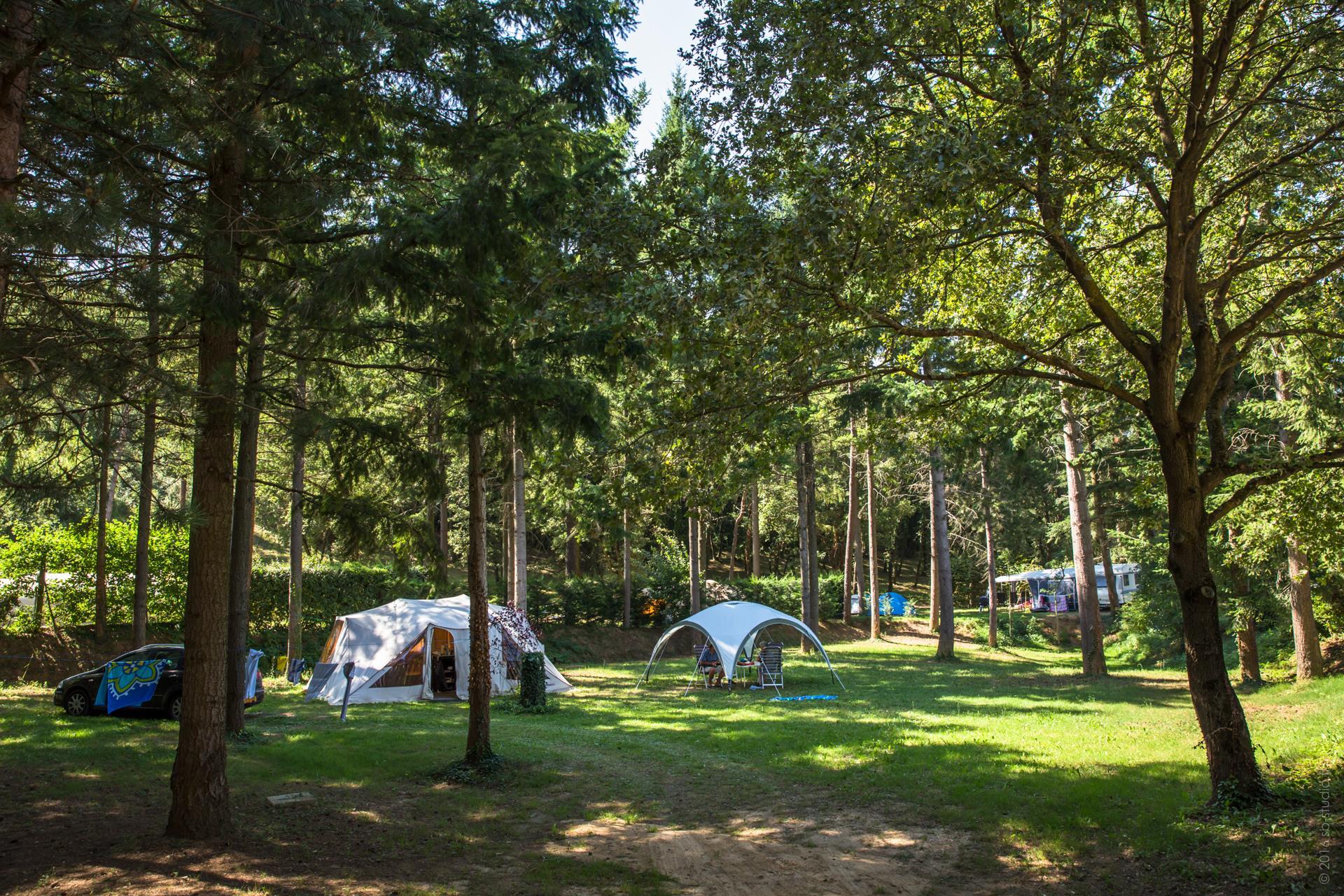 Camping Domaine la Garenne, Saint-Avit, Drôme