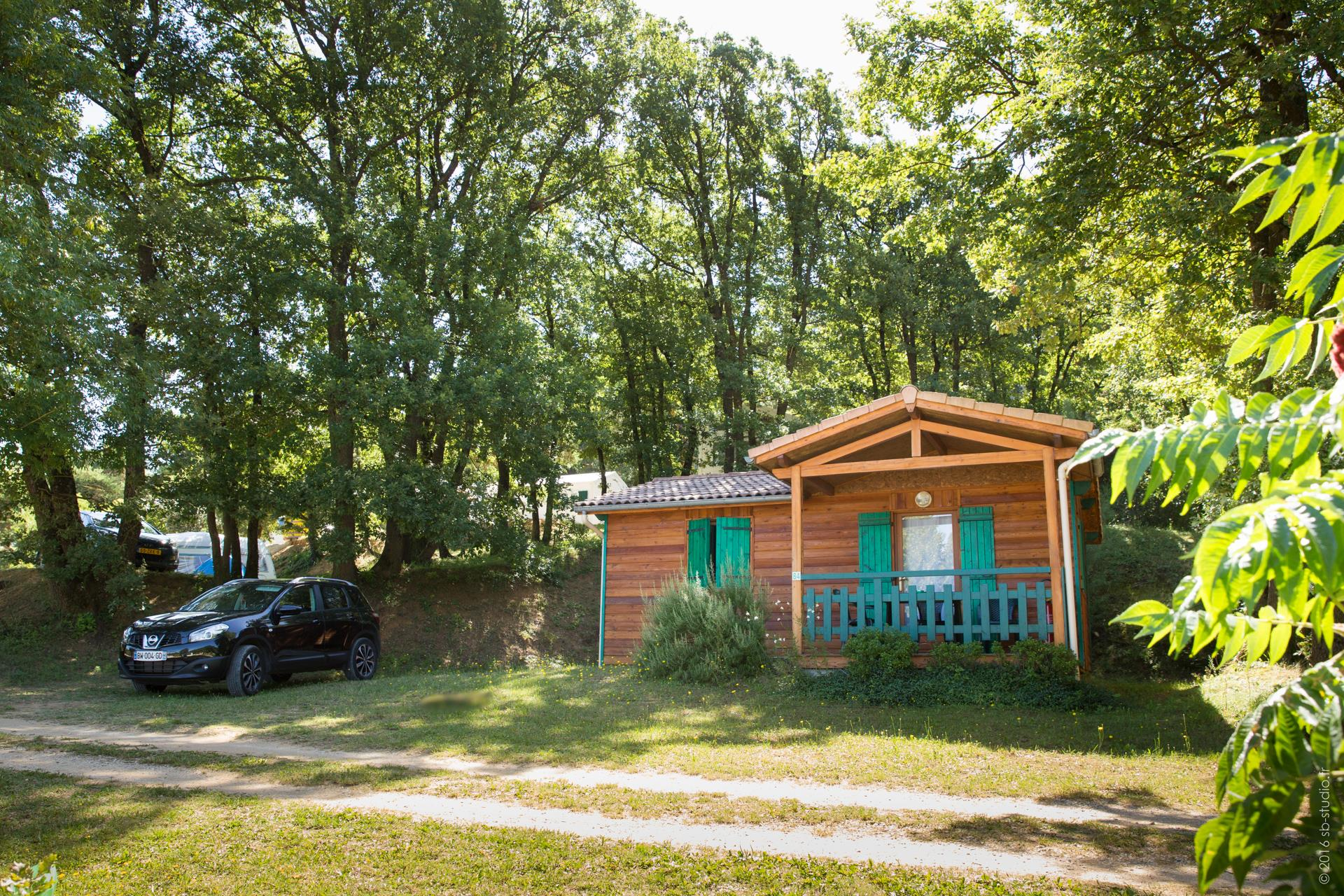Accommodation - Chalet 2 Rooms, Covered Terrace - Domaine la Garenne