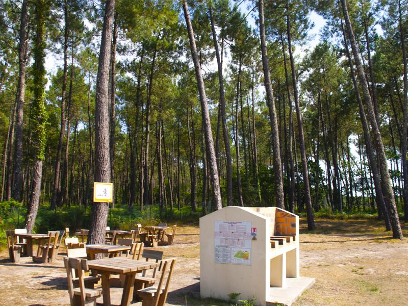 Camping Lou Pignada, Messanges, Landes