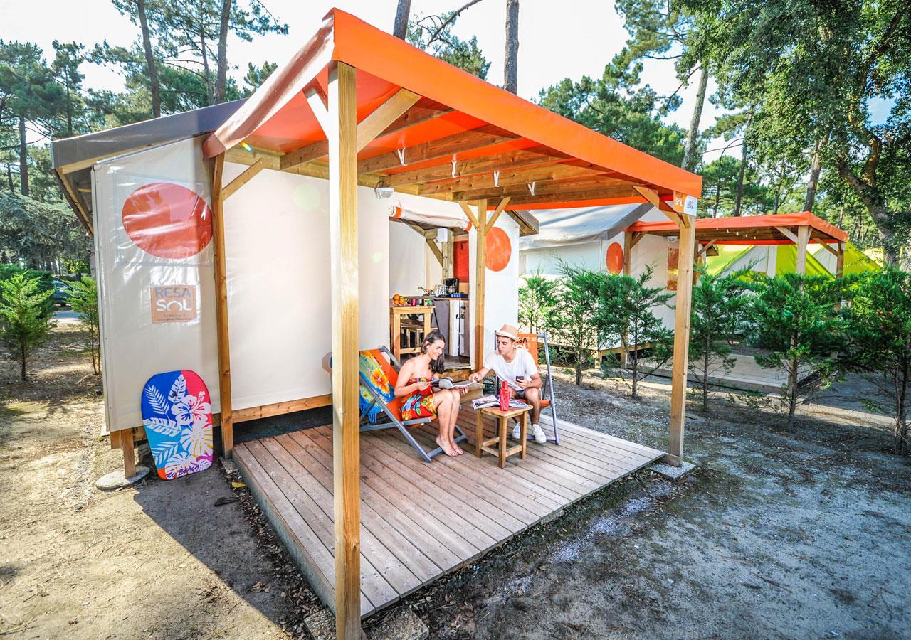 Location - Tente Resasol - Camping Le Vieux Port