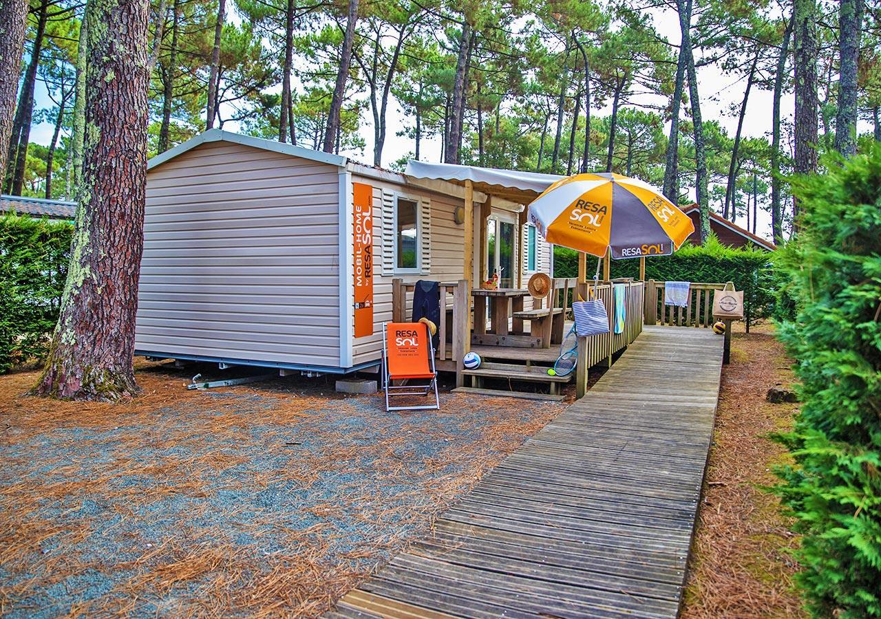 Location - Mobil-Home Resasol Pour Personnes À Mobilité Réduite - Camping Le Vieux Port