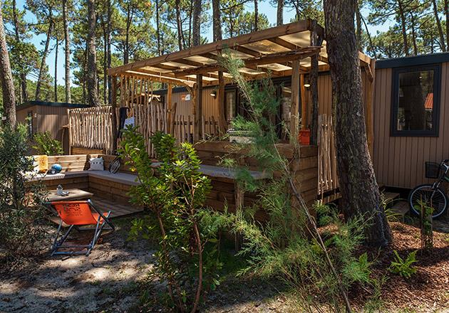 Location - Lodge Premium Jacuzzi - Camping Le Vieux Port