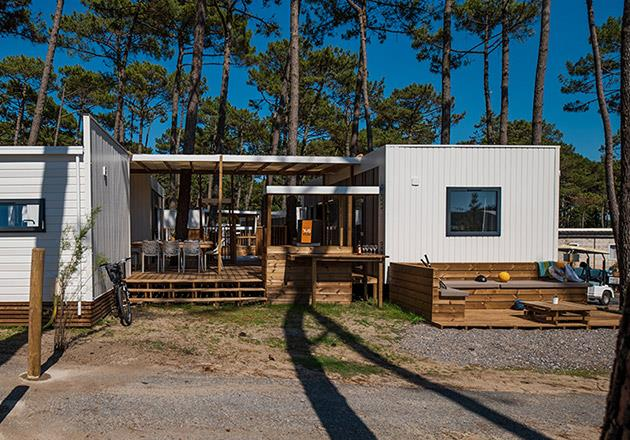 Location - Cottage Trio Suites Premium - Jacuzzi® - Camping Le Vieux Port