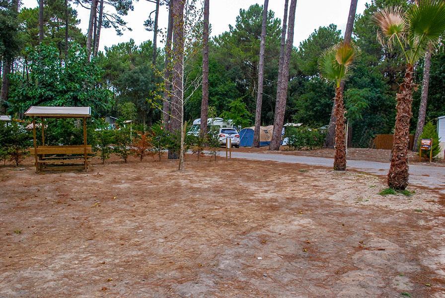 Emplacement - Emplacement Confort 120 - Camping Le Vieux Port