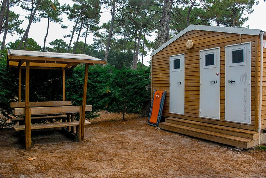 Emplacement - Emplacement Vip 120 - Camping Le Vieux Port