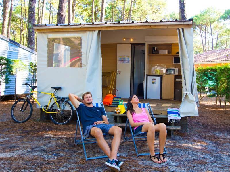 Location - Bungalow Eco - Camping Le Vieux Port
