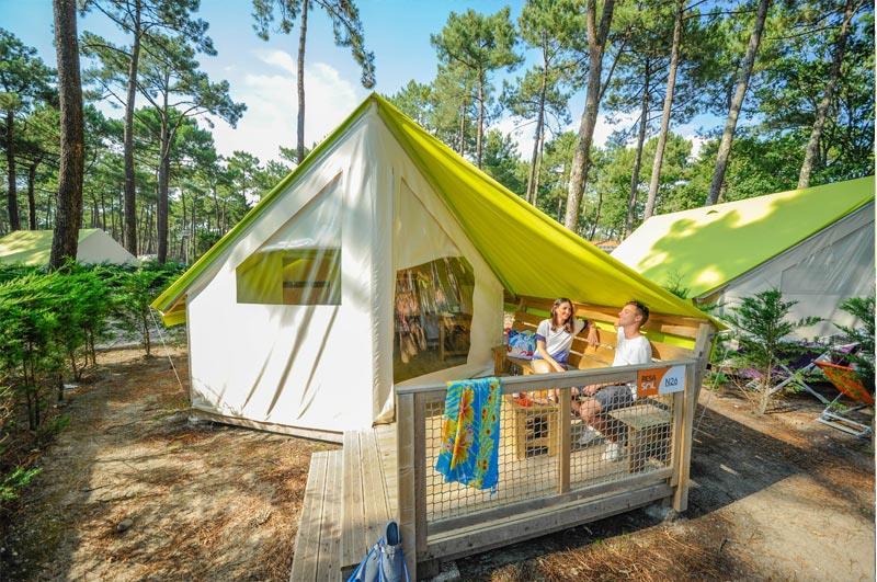 Location - Tente Eco - Camping Le Vieux Port