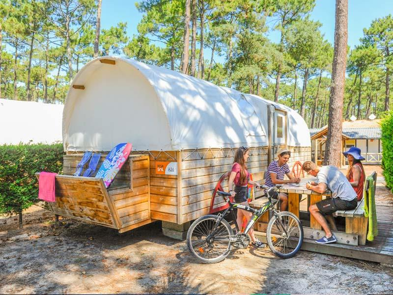 Location - Tente Western - Camping Le Vieux Port
