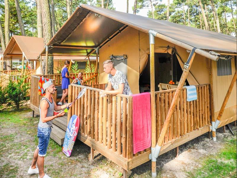 Location - Tente Ecoluxe - Camping Le Vieux Port