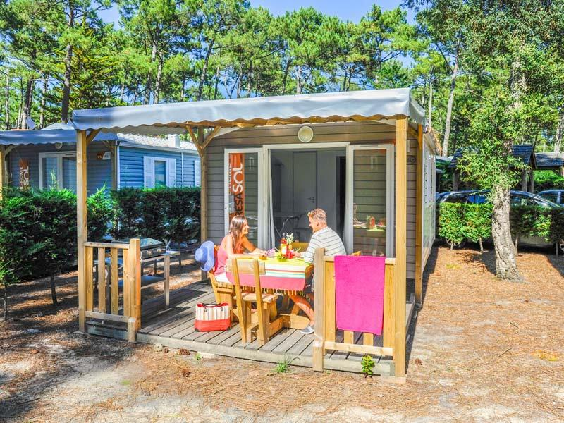 Location - Mobil-Home Resasol - Camping Le Vieux Port