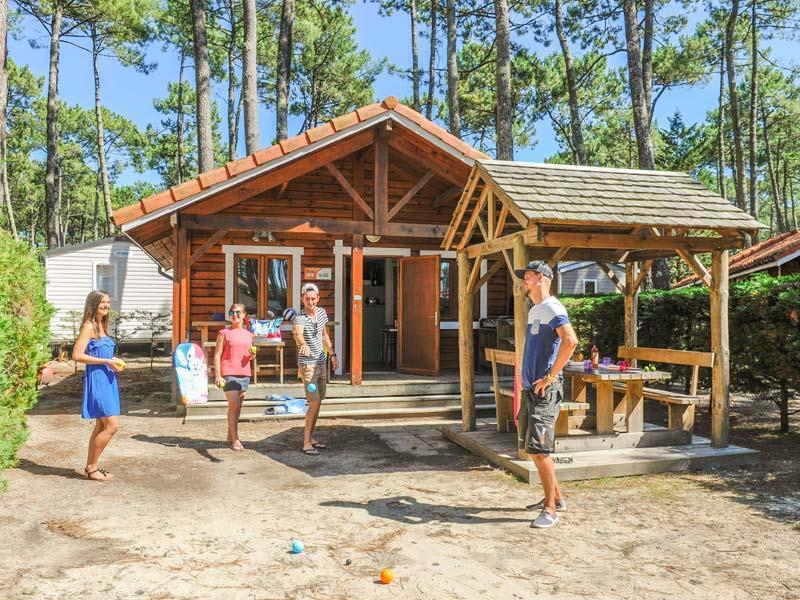 Location - Chalet Bois - Camping Le Vieux Port