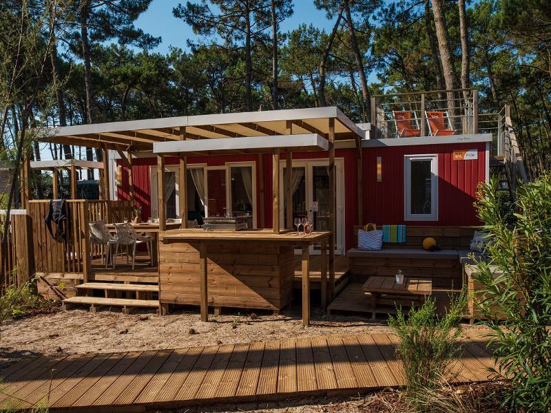 Location - Solarium Premium Dune & Jacuzzi - Camping Le Vieux Port
