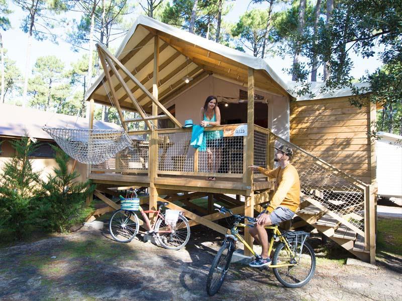 Location - Cabane Sur Pilotis - Camping Le Vieux Port