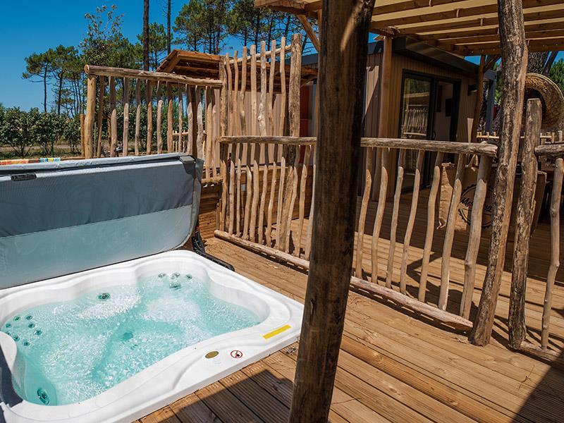 Location - Cottage Duo Suite Premium - Jacuzzi® - Camping Le Vieux Port