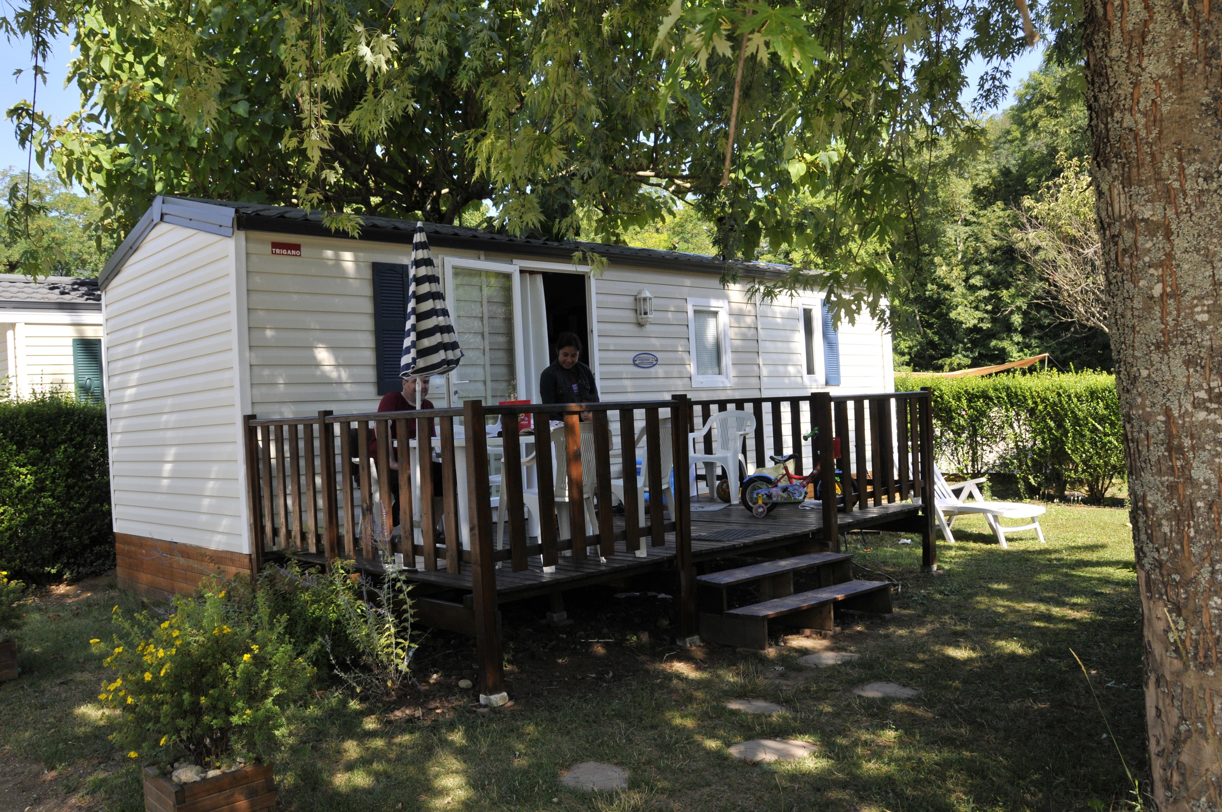 Accommodation - Mobile Home Edelweiss 2 Bedrooms 25 M² - Camping  Le Vaugrais