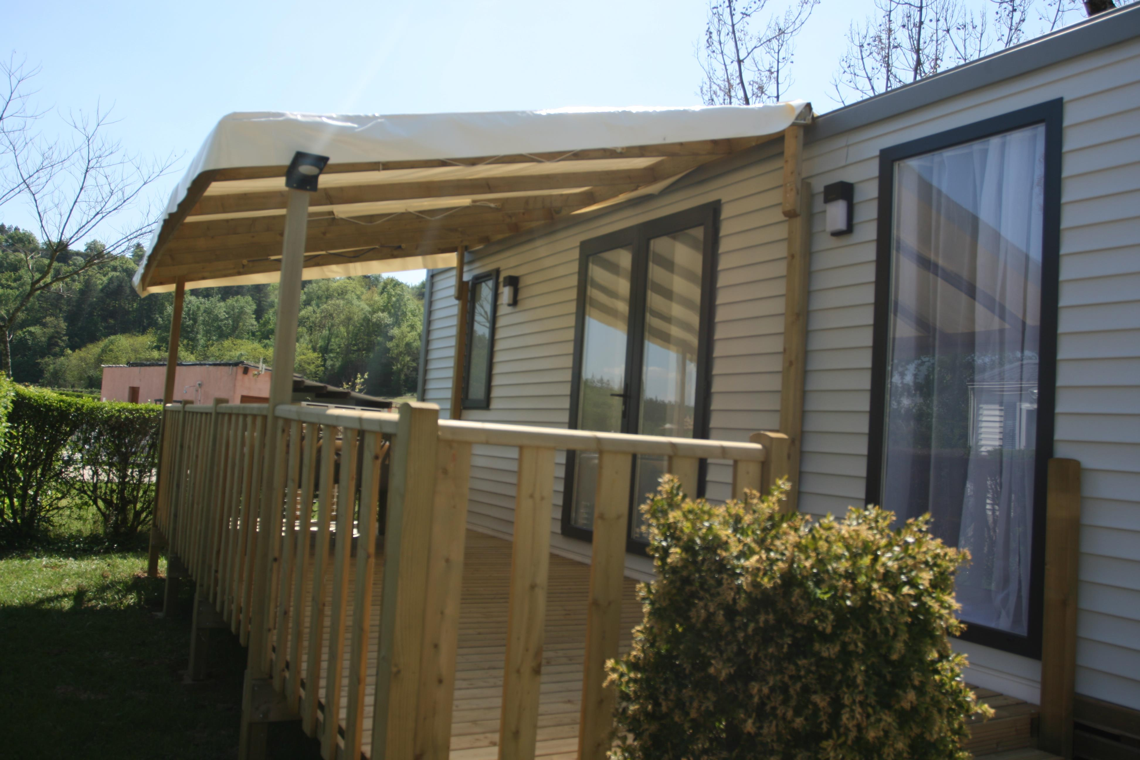 Accommodation - Mobile Home Giroflee 2 Bedrooms 30 M² - Camping  Le Vaugrais