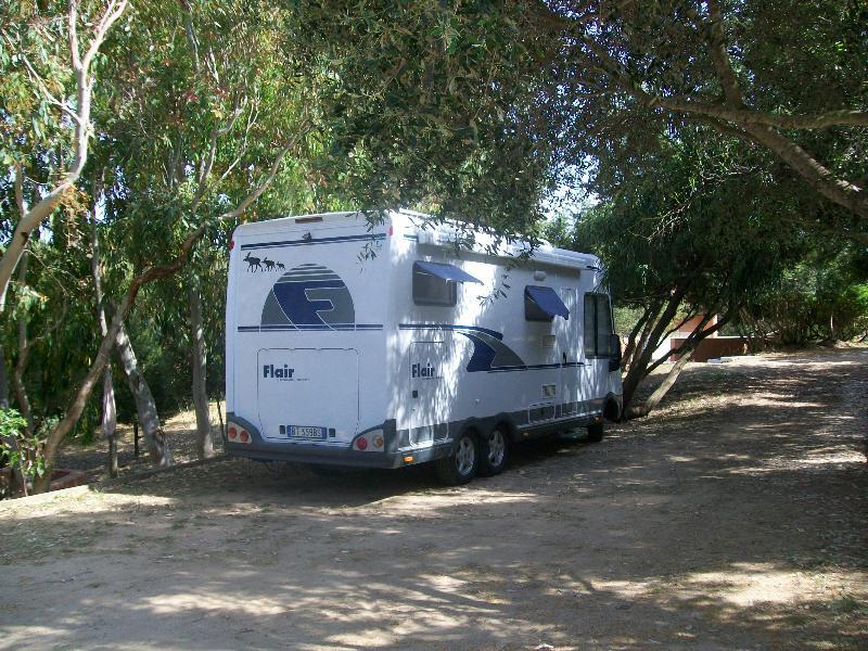 Emplacement - Emplacement  Caravane - Camping Car, Avec Deux Personnes Et Électricité 3A - Camping La Liccia