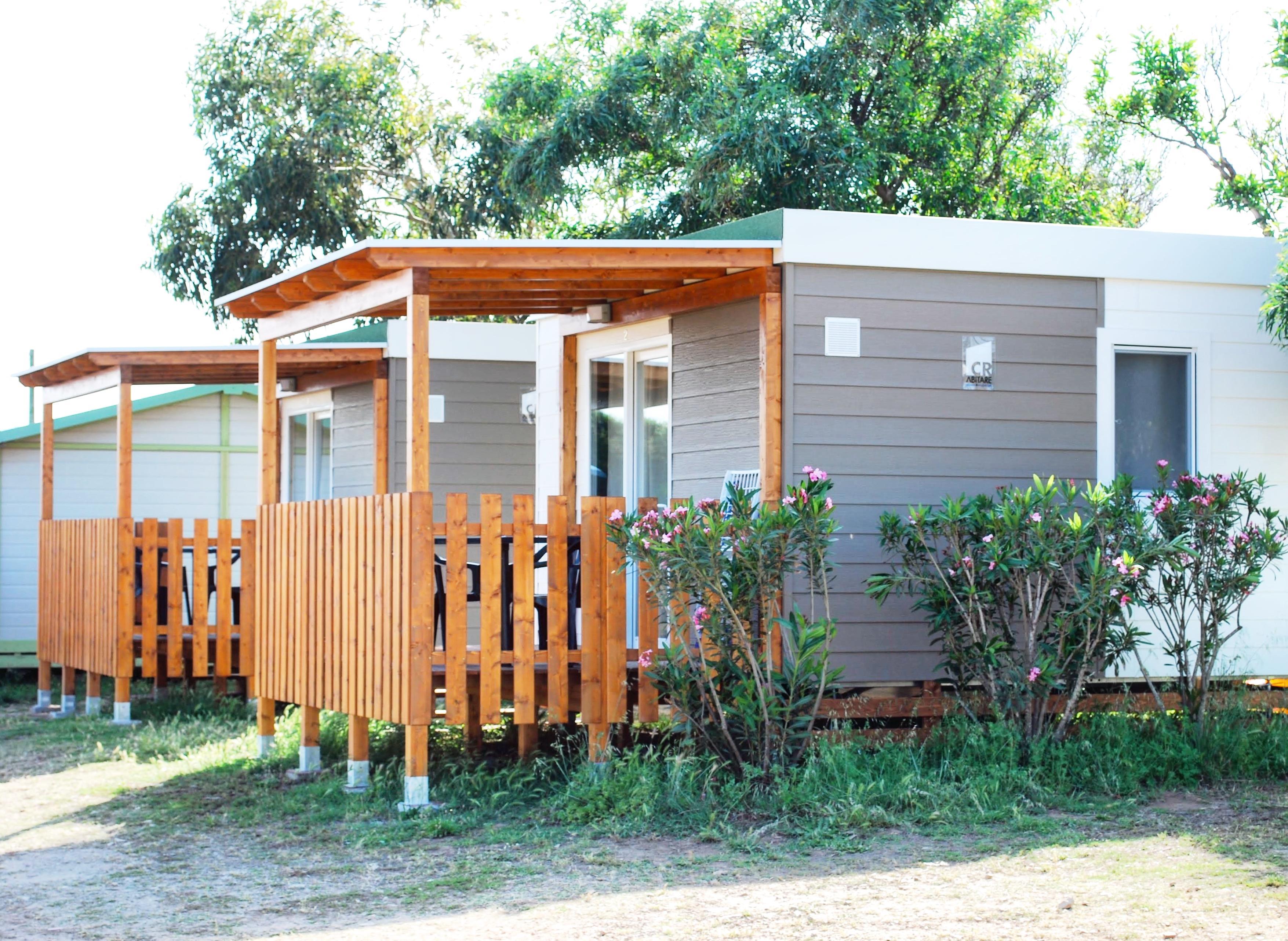 Location - Mini Suite Aloe Avec Kitchenette Équipée - Camping La Liccia