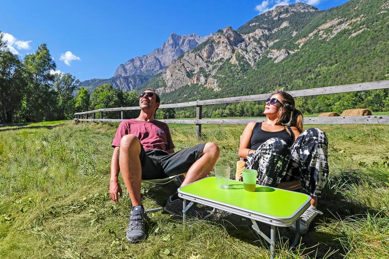 Camping les Vaudois, Les Vigneaux, Hautes-Alpes