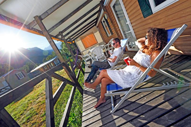 Camping le Courounba, Les Vigneaux, Hautes-Alpes