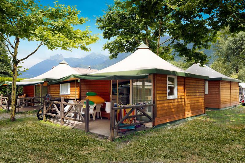 Camping la Nubliere, Doussard, Haute-Savoie