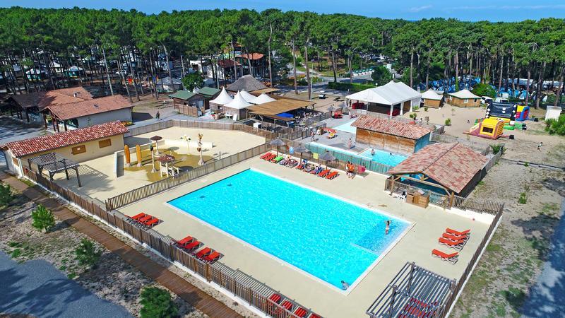 Camping Campéole les Tourterelles, Saint-Girons-Plage, Landes