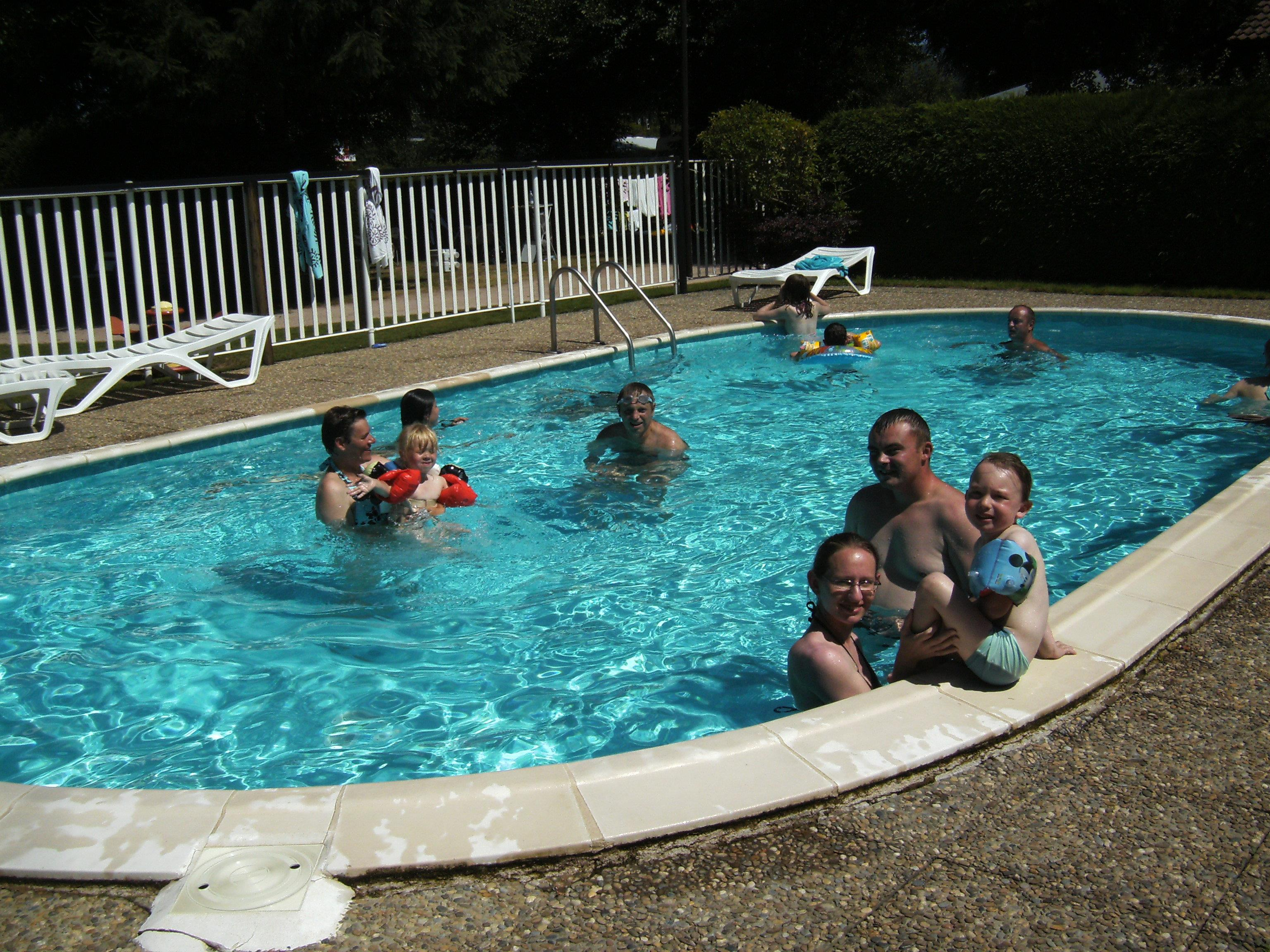 Bathing Camping Les Deux Pins - Anould
