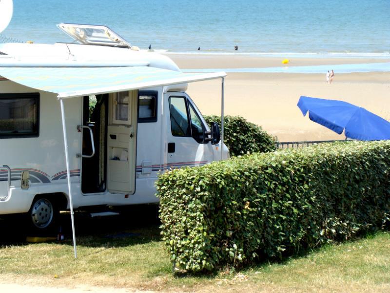 Camping le Point du Jour, Merville-Franceville-Plage, Calvados
