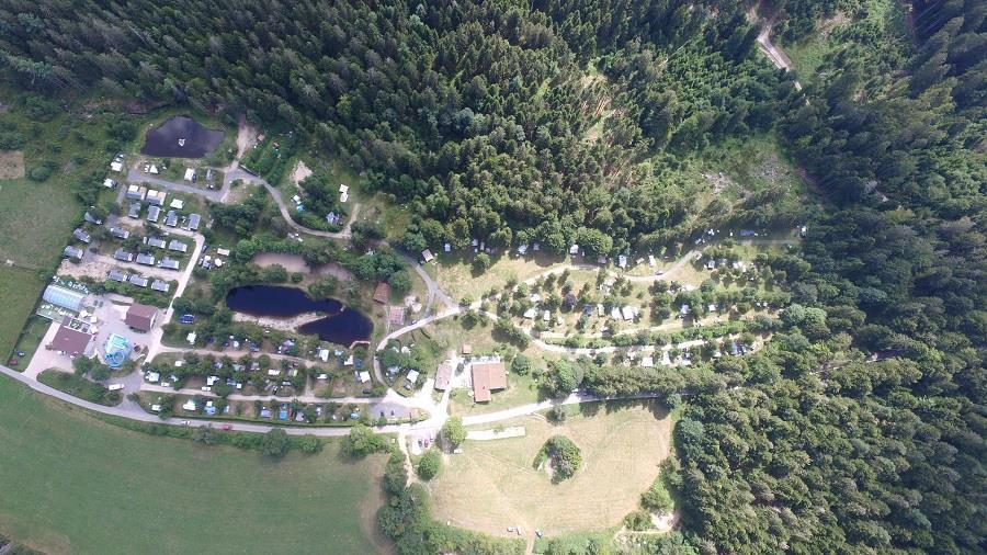 Camping la Sténiole, Granges-sur-Vologne, Vosges