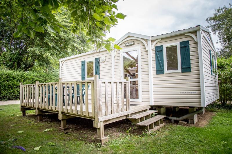 Location - Mobil-Home Super Mercure - Camping Le Tiradou