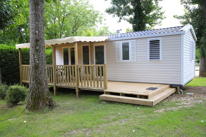 Location - Mobil Home Irm Rivièra 3 Chambres - Camping Le Tiradou