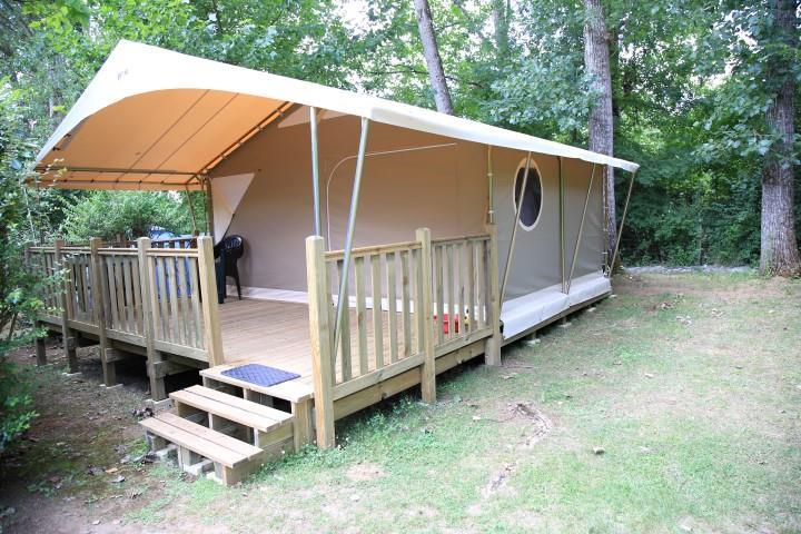 Location - Tente Canada Sans Sanitaires - Camping Le Tiradou