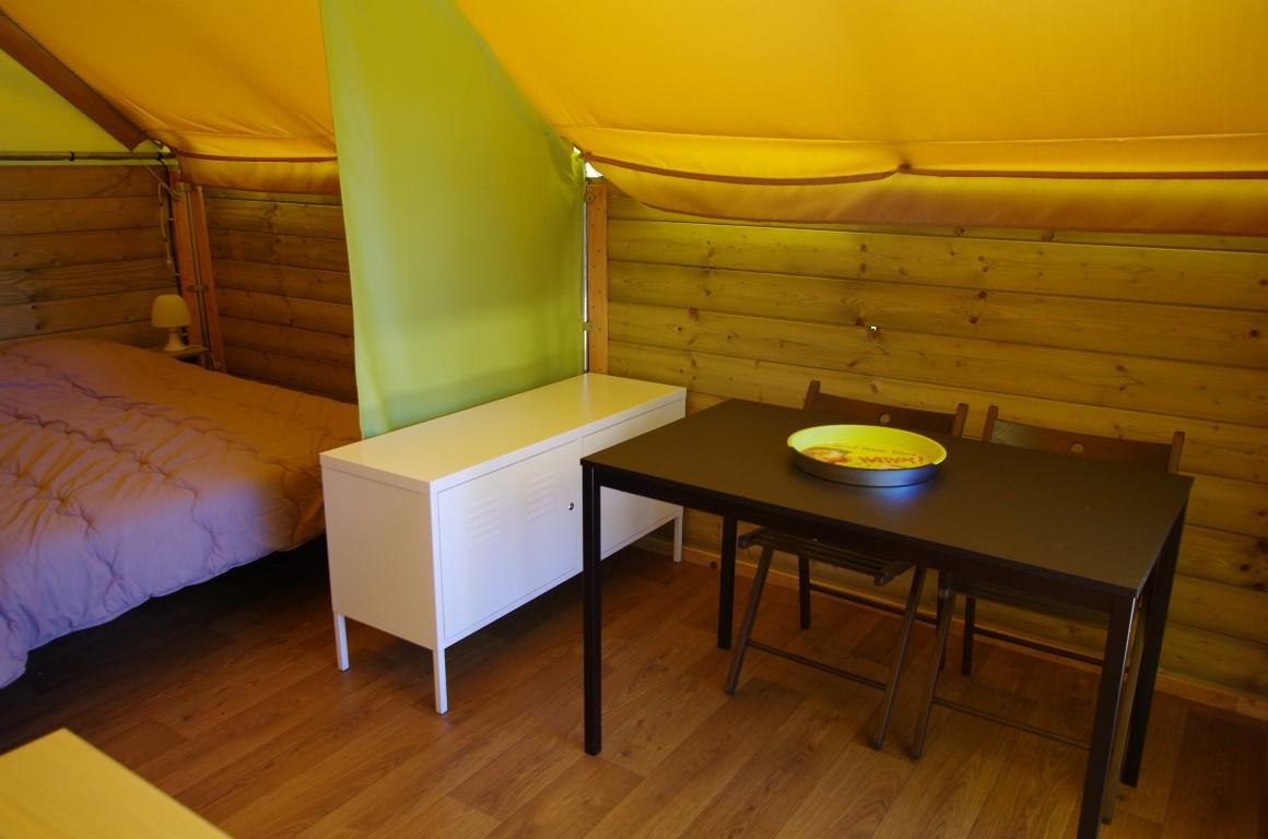 Location - Tente Kibo Sans Sanitaire - Camping Le Tiradou