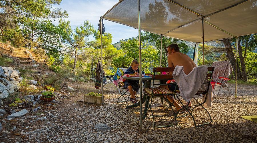 Camping l'Orée de Provence (Le Romégas), Buis-les-Baronnies, Drôme