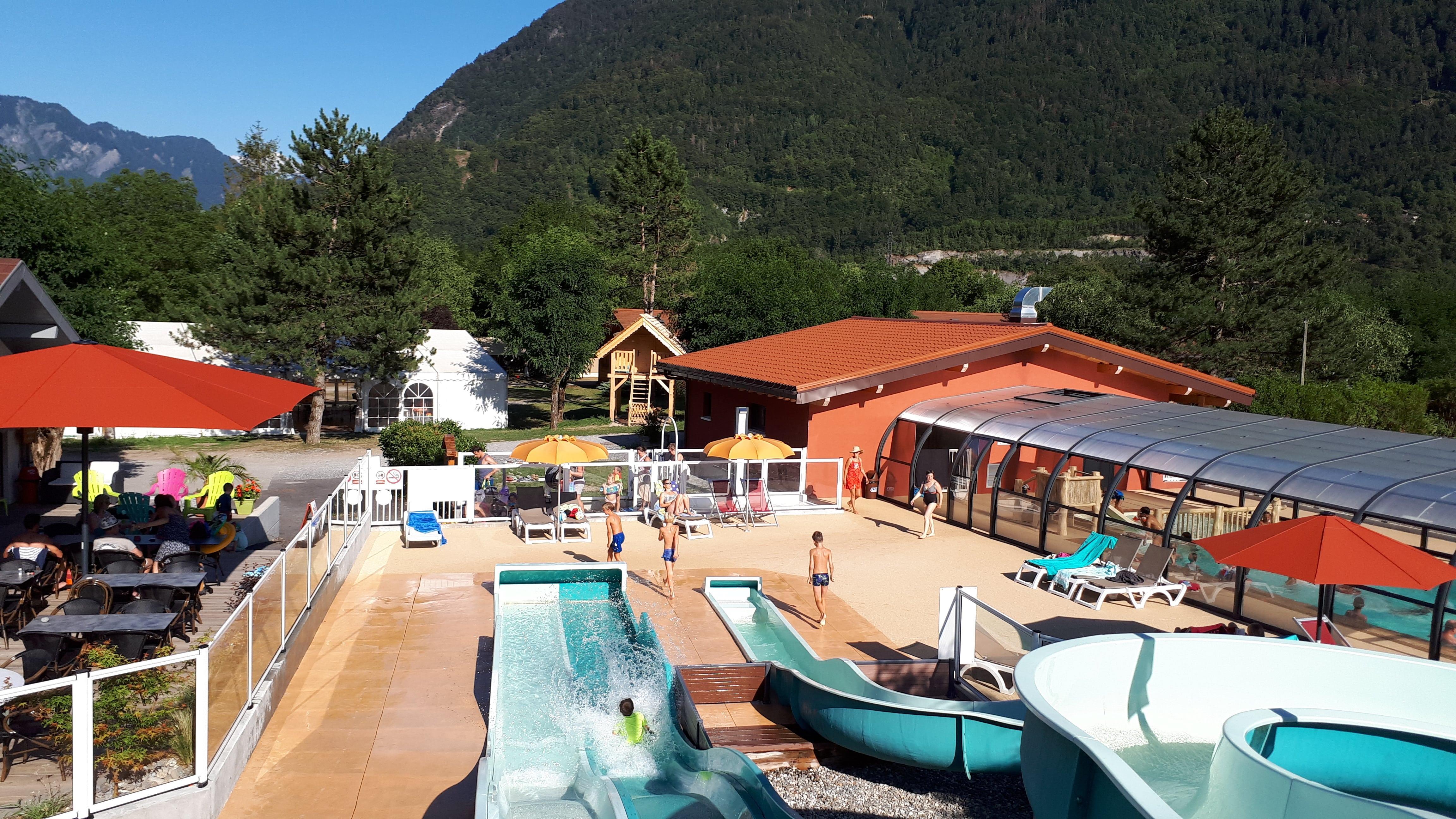 Camping Champ Tillet, Marlens, Haute-Savoie