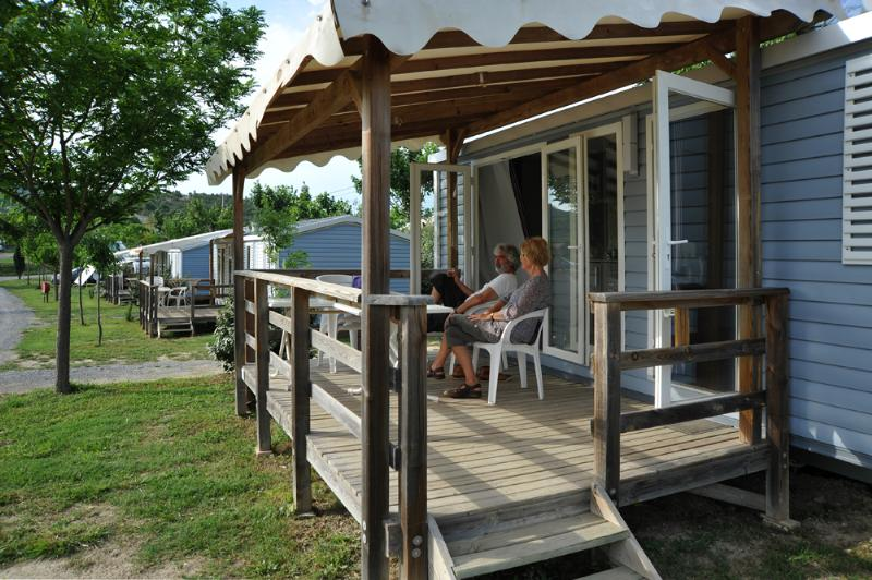 Location - Mobil-Home 2 Chambres Riviera  27,5M² + Climatisation Dimanche/Dimanche - Camping Chadeyron